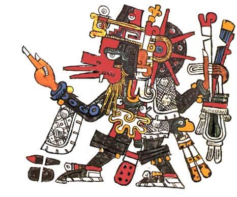 Quetzalcoatl in der me...